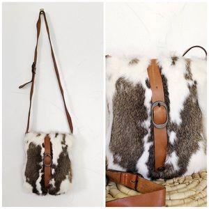 PATRICIA NASH || Venezia Rabbit Fur Crossbody
